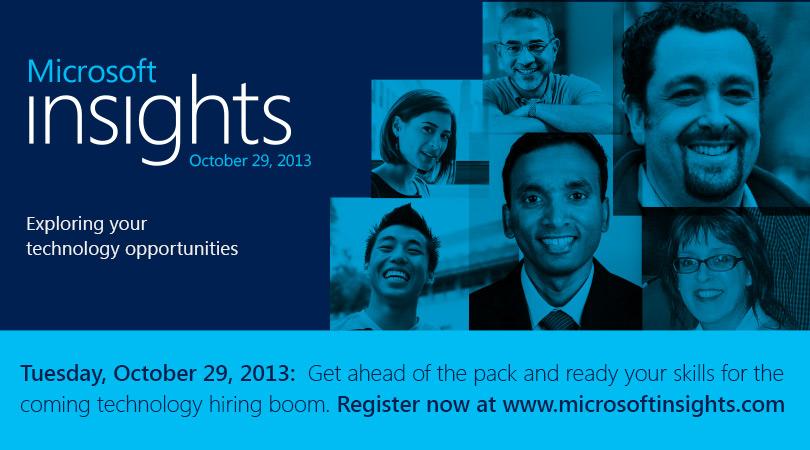 Microsoft Insights 2013